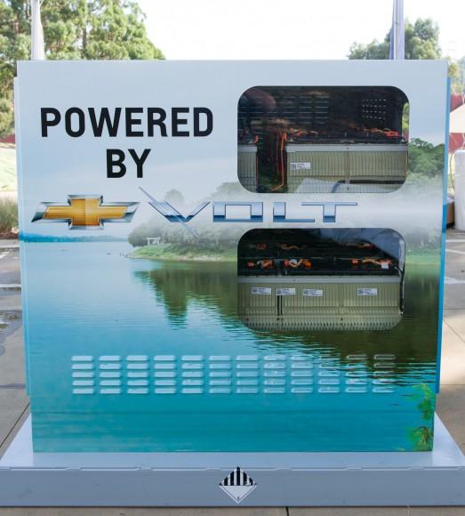 System ponownego wykorzystania akumulatorów z Chevroleta Volta