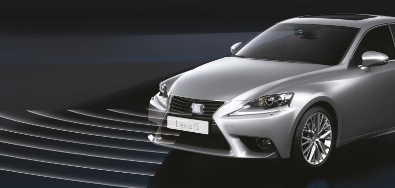 Lexus IS - systemy bezpieczenstwa