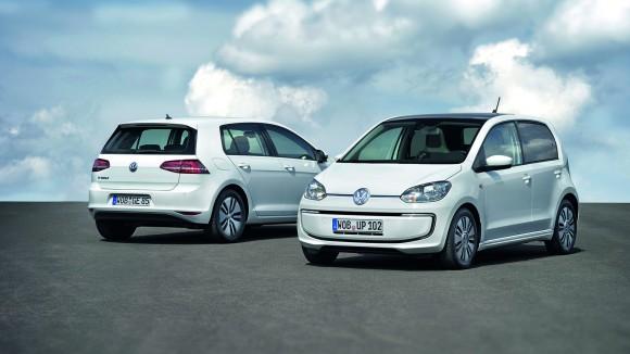 Volkswagen e-Golf i e-up!
