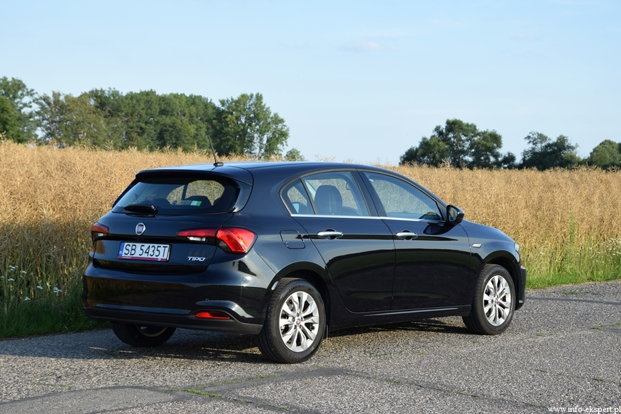 test fiat tipo 1 4 t jet 16v lounge wiadomo ci motoryzacyjne. Black Bedroom Furniture Sets. Home Design Ideas