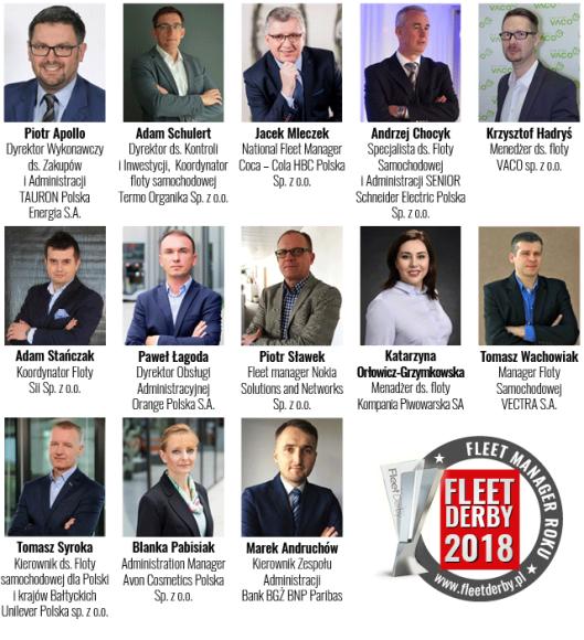 Nominowani_Fleet Manager Roku_Fleet Derby 2018