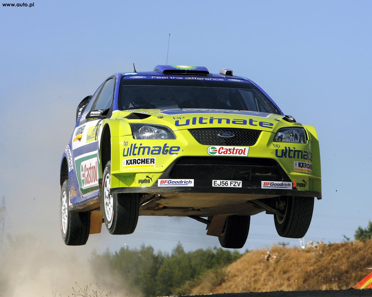 Ford Focus WRC Wallpaper
