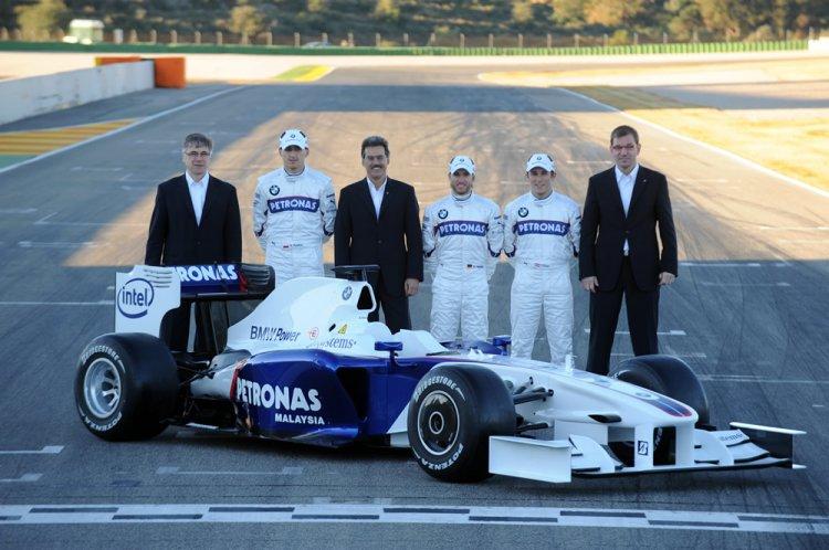 Bmw Sauber F1 09 Nowy Bolid Roberta Kubicy Wiadomości